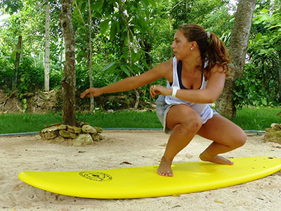 balance board session