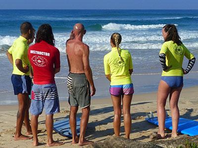 how we coach on the beach