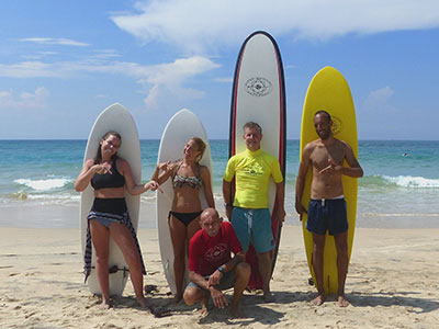 our custom made surf boards