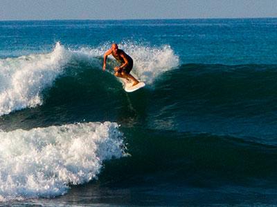 stoked at Surf School Sri Lanka