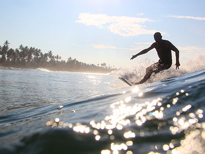 meditation helps you to surf