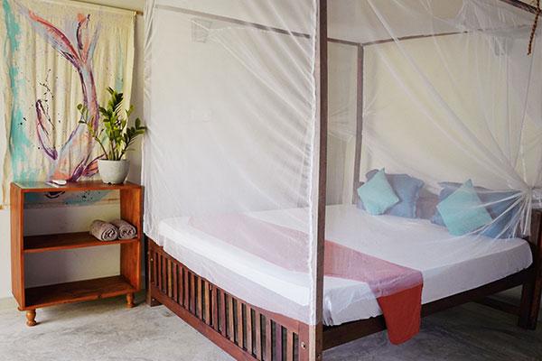 mellow hostel double room